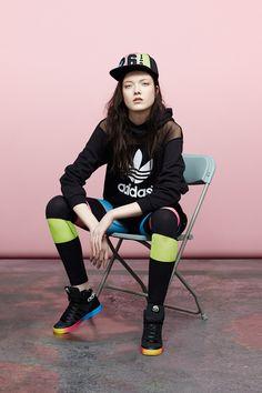 adidas Originals by Rita Ora Editoriais De Moda 551f343e1f047