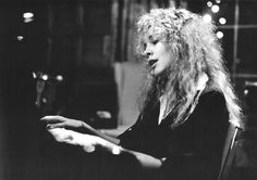 """""""Stevie in the studio during the recording of Tusk - 1979. """""""