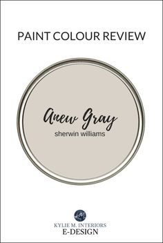 Cream Paint Colors, Greige Paint Colors, Interior Paint Colors, Interior S, Paint Colours, Interior Design, Wall Colors, House Colors, Anew Gray Sherwin Williams