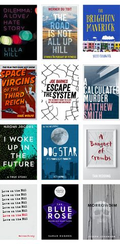 book covers - Brighton Design Agency