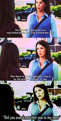 Hahaha i have a lot of favorite shows but Gilmore Girls will always have my heart Rory Gilmore, Gilmore Girls Funny, Gilmore Girls Quotes, Funny Girls, Best Tv Shows, Best Shows Ever, Movies And Tv Shows, Favorite Tv Shows, Favorite Things