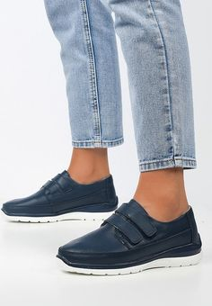 Mocasini piele naturala Ziana Navy Slip On, Sneakers, Shoes, Fashion, Tennis, Moda, Slippers, Zapatos, Shoes Outlet