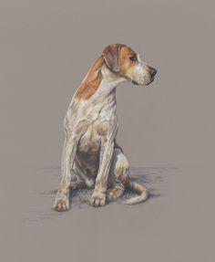 Mark Hankinson Canine Artist at Stockbridge Gallery Dogs in Art