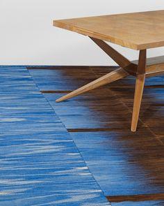 blue swedish rug
