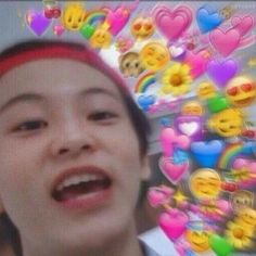 Y/n is Seonghwa's little sister , she is innocent and her brother wan… Meme Pictures, Reaction Pictures, Meme Faces, Funny Faces, Love In Korean, Memes Chinos, Heart Meme, Funny Kpop Memes, Mark Nct