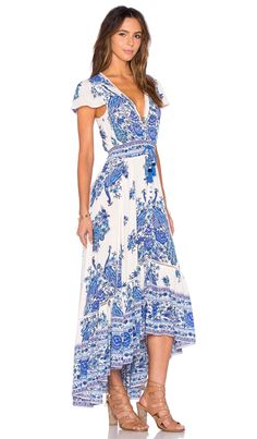 Spell & The Gypsy Collective Hotel Paradiso Dress in Bluebird | REVOLVE