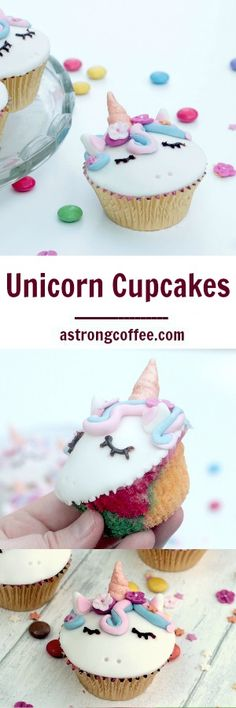 Unicorn Cupcake Tutorial