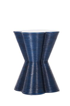 Italia Side Table all dressed up in Indigo finish. #HPMKT #DavidFrancisFurniture