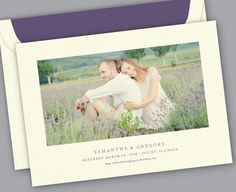 Kleinfeld Paper || With A Flourish Photo Save-the-Date