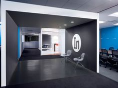 LogMeIn HQ Office,  Woburn, MA, USA   LogMeIn sought to capture their expansion needs as a way to exemplify the company's technologically rich and inventive spirit.