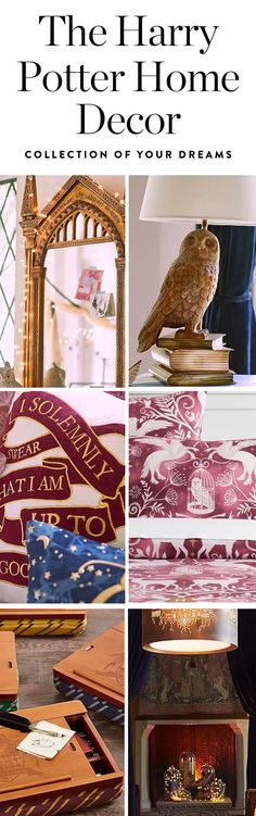 Take heed, witches and wizards: PBteen just unveiled a Harry Potter home decor collection that's about the closest you can get.