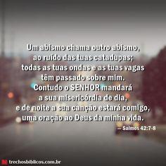 Salmos 42:7-8