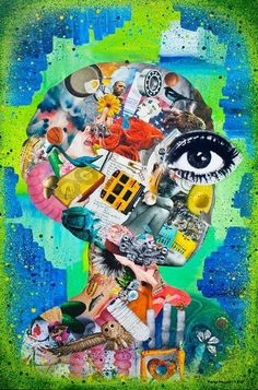 Art Therapy Ideas. The art idea(Inside My Head) was used to ask children to do in the 1980s.
