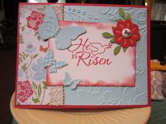 stampin up he is risen - Google Search