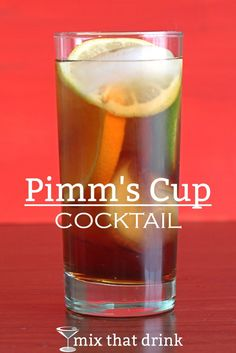 Pimm's Cup is actually more a punch than a cocktail. It starts with Pimm's No. 1 Cup, a gin-based, low alcohol spice and citrus spirit. Then you add fruit and veggie chunks, and more gin if you like.
