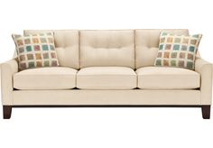 picture of Cindy Crawford Home Montclair Vanilla Sleeper  from Sleeper Sofas Furniture