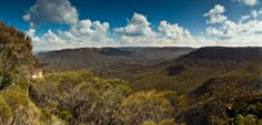 Jamison Valley, Blue Mountains New South Wales.