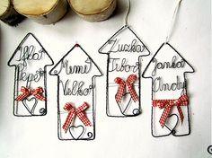 malý domček s 2 menami by astra - SAShE.sk - Handmade Vianoce