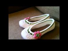 Women's Boat Slippers Straps and Toe Flap Tutorial - YouTube