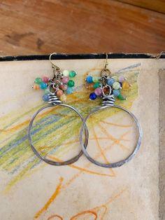 Boho dangle drop earring singles salvaged lot