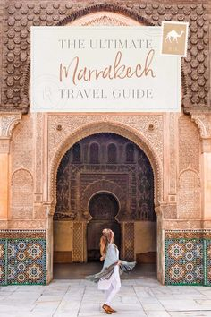 The Ultimate Marrakech Travel Guide The Blonde Abroad Marrakech Travel, Morocco Travel, Africa Travel, Visit Marrakech, Visit Morocco, Marrakech Morocco, Travel Europe, Italy Travel, Casablanca