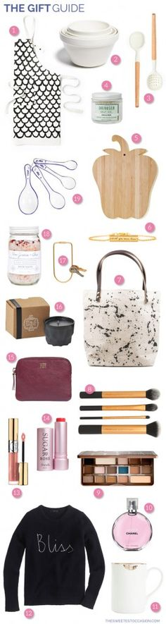 The Gift Guide: Gifts for Her