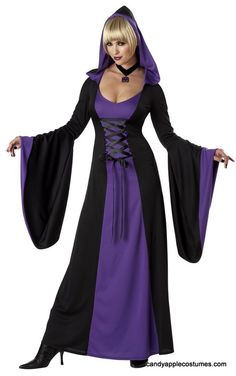 Halloween Costume Cosplay Magic Witch Dress Up Long Dress at Banggood Witch Costumes, Adult Costumes, Costumes For Women, Halloween Costumes, Halloween Stuff, Halloween Ideas, Anime Halloween, Purple Halloween, Halloween Vampire