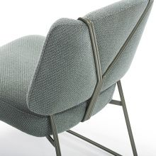 SOFT BLUE CHAIR | A nice soft color can be a great option to decor your home| www.bocadolobo.com/ #modernchairs #chairideas