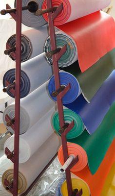Marine Vinyl Fabric Rolls
