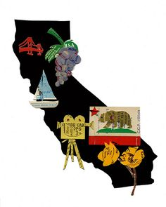state of California | von Colorfly Studio