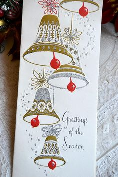 DIE759-E JINGLE BELL SET-Impression Obsession//IO Stamps -Christmas Ornament