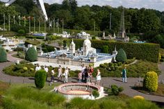 DISCOVER EUROPE'S NICEST PLACES…  Located at the foot of the Atomium, MINI-EUROPE is the only park where you can have a whitlestop tour around Europe in a few short hours. A truly unique voyage ! Stroll amid the typical ambiance of the most beautiful towns of the Old Continent.  MINI-EUROPE… an absolute must!