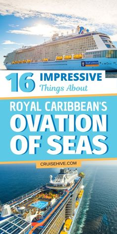 Impressive things you really should know about Royal Caribbean's Ovation of the Seas cruise ship. Things to do on the Quantum-class vessel for any cruiser. Best Cruise, Cruise Tips, Cruise Travel, Cruise Vacation, Italy Vacation, Shopping Travel, Beach Travel, Cruise Excursions, Cruise Destinations