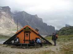 An emergency shelter in the Akshayuk Pass in Auyuittuq National Park on Baffin Island. Submitted by Ben Odenheimer, photo by Brad Kueneman.
