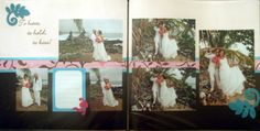 Wedding Scrapbook LO