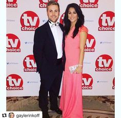 British hockey player and Olympic gold medal champion Sam Quek attending the TV Choice Awards in London carrying Subella London clutch bag  #Repost @gaylerinkoff with @repostapp ・・・ Loved styling the super lovely @samquek13 for tonight's #tvchoiceawards Thank you @amandawakeley for the divine dress. @caratlondon for the sparkly jewels and @subella_london for the bag #goldmedal #teamgb #hockey