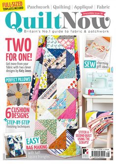 Quilt Now issue 16 is on sale.. now!