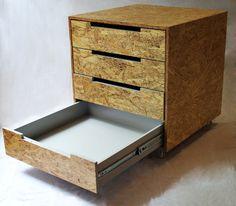 meuble bas osb et m dium noir beds pinterest kommode gute ideen und schr nkchen. Black Bedroom Furniture Sets. Home Design Ideas