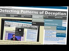 Patterns of Deception - Politics Immigration Debate, Climate Change Debate, Real Facts, I Voted, Knowledge Is Power, Journalism, School Days, Page Design, Economics