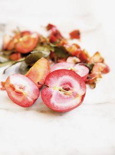Confiture de rhubarbe et de pommes