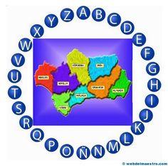 Día de Andalucía (Pasapalabra) - Recursos educativos y material didáctico para niños/as de Infantil y Primaria. Descarga Día de Andalucía (Pasapalabra)