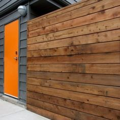 colors and knotty cedar fence