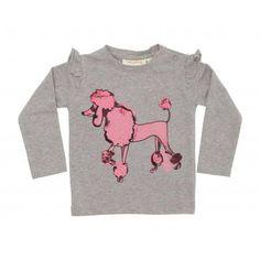 "Soft Gallery - Langarmshirt ""Maddy Pink Poodle"""