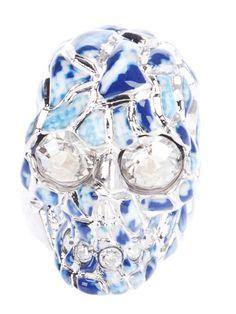 Alexander McQueen Skull cocktail ring
