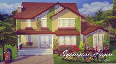 Sims 4 CC's - The Best: House by Melly