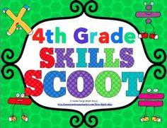 4th Grade Math Scoot Mega Bundle $