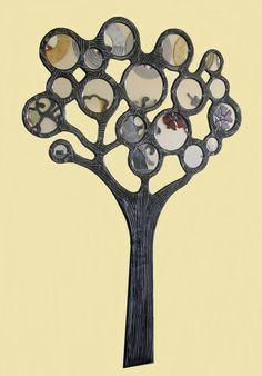 HAND MADE MIIROR BY WOOD .-Δείγμα απ τη μεγαλύτερη  γκάμα χειροποίητων καθρεφτών στην Ελλάδα. .-Το σύνολο μπορείτε να το δείτε στο/// www.x-esio.gr Modern Mirrors, Creative Ideas, Diy Creative Ideas