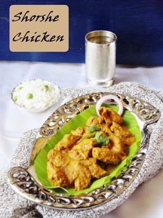 Shorshe Murgi: Indian Chicken Curry With Mustard Paste