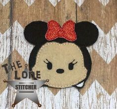 Ms Mouse Mini Over Sized: The Lone Stitcher