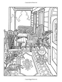 The Victorian House Coloring Book (Dover History Coloring Book): Daniel Lewis, Kristin Helberg: 9780486239088: Amazon.com: Books